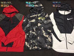 Nike windbreaker jackets for Sale in San Jose, CA