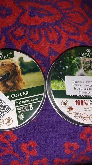 Dewel cat and dog flea collars for Sale in Reedley, CA