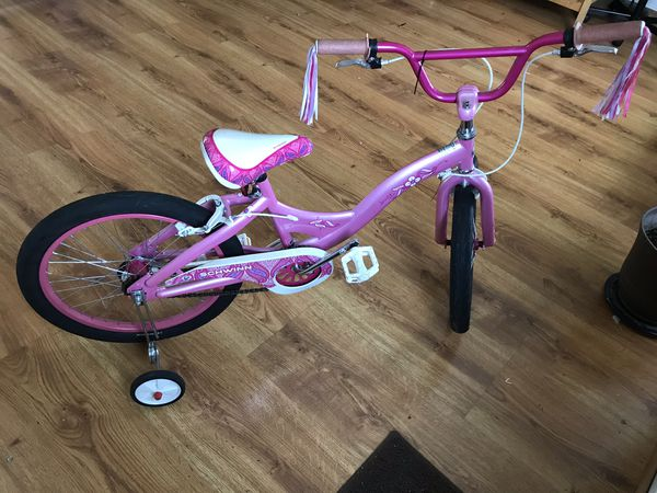 Schwinn Pink Bike (with training wheels)