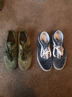 Vans and Adidas FOR SALE for Sale in Antioch, CA
