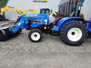 New Holland Workmaster 25 w/BH75 Backhoe for Sale in Edgewood, WA
