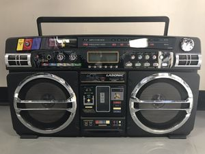 AWESOME LASONIC BOOMBOX GHETTO BLASTER RADIO STEREO - SOUNDS GREAT for Sale in Pasadena, CA