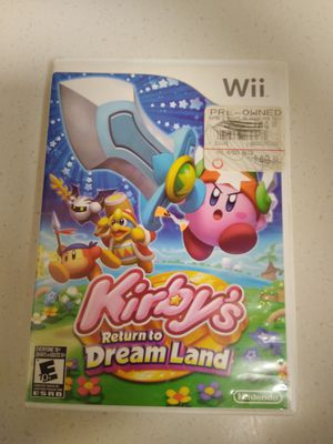 Kirby wii for Sale in San Diego, CA