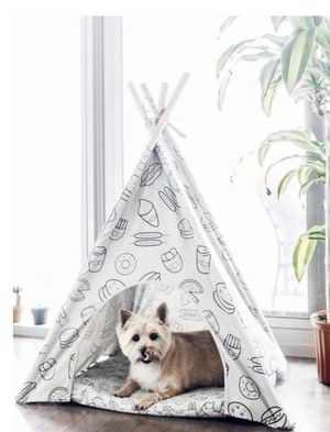 Pipolli Food dog teepee for Sale in Chicago, IL