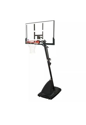 """Spalding NBA 54"""" Portable Angled Basketball Hoop with Polycarbonate Backboard for Sale in The Bronx, NY"""