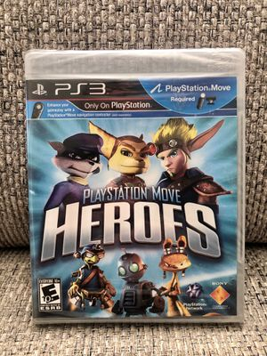 PS3 - PlayStation Move Heroes (Sony PlayStation 3, 2011) for Sale in Fresno, CA