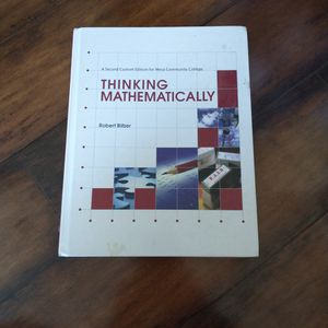 Thinking Mathematically ISBN 978-0-558-73881-5 for Sale in Roosevelt, AZ