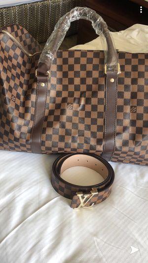 Louis Vuitton belt and bag for Sale in Phoenix, AZ