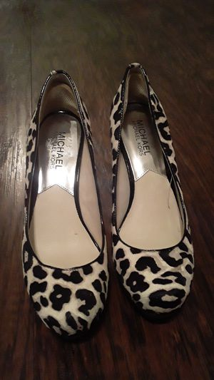 Micheal Kors Leopard Calf Skin pumps for Sale in Maryland Heights, MO