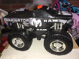 ~Dodge Ram monster truck~pops wheelies makes different engine noises and lights up for Sale in Culloden, WV