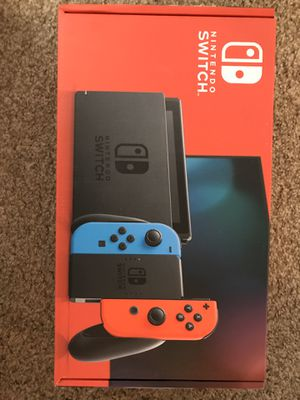 NINTENDO Switch Neon Console Brand new for Sale in Folsom, CA