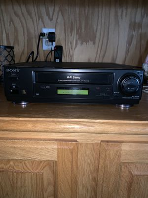 Sony VCR Player & Recorder VHS Model SLV-620HF for Sale in Santa Maria, CA