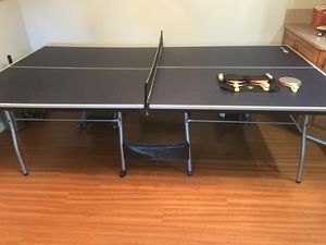 MD sports official size 15mm 4 piece indoor table tennis with 6 racket for Sale in San Diego, CA