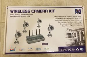 Home Security Systems with 4 cameras for Sale in Lowell, MA