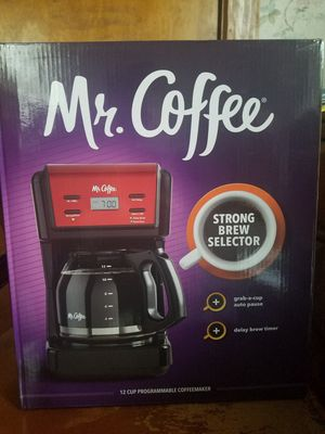 Mr Coffee 12 cup programmable coffeemaker for Sale in Montgomery, PA