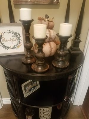 3 candle holders for Sale in Norwalk, CA