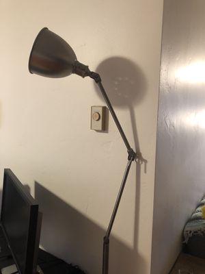 Silver floor lamp for Sale in Marina del Rey, CA