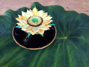 Tea cup handmade sunflower for Sale in Lancaster, PA