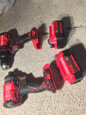 2 CRAFTSMAN 20VOLT DRILLS—NO CHARGER for Sale in Memphis, TN