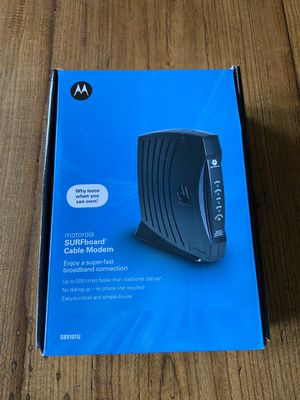 Arris Surfboard Modem for Sale in Lake Grove, OR