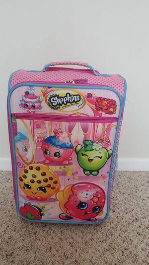 Shopkins, Kids suitcase for Sale in Madison Heights, MI