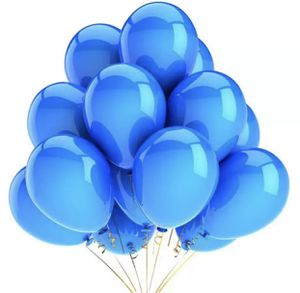 One dozen for Metallic Royal Blue Balloons with helium for Sale in Baldwin Park, CA