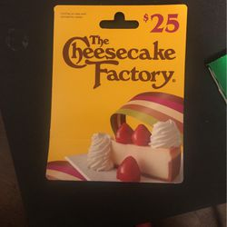 The Cheesecake Factory Gift Card for Sale in East Los Angeles,  CA