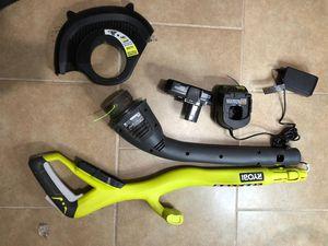 """Ryobi 18v 10"""" string trimmer kit for Sale in Dallas, TX"""
