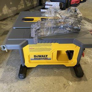 Dewalt Flevolt Table Saw 81/4 Tool Only for Sale in Dallas, TX