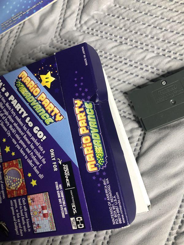 Mario Party Advance for Nintendo GBA