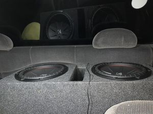 Dual Kicker Comp R 12's for Sale in Sidney, OH