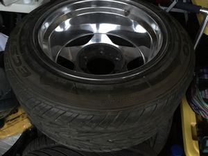 Kumho Ecsta AST Tires 225 /50 /15 in Excellent shape... Set of 4 Tires only... for Sale in San Jose, CA