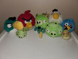 Angry Bird Plushies for Sale!! for Sale in Vancouver, WA