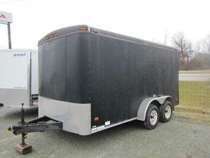 16ft enclosed trailer for Sale in Channelview, TX