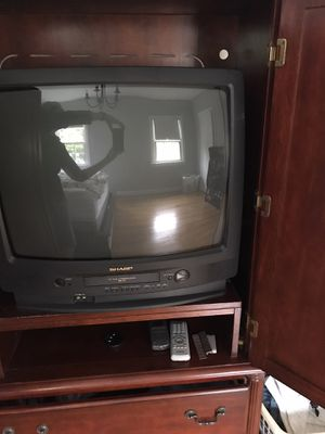 "TV 19"" with VHS Slot for Sale in Silver Spring, MD"