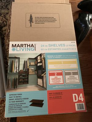 Martha Stewart Closet organizational pieces for Sale in Falls Church, VA