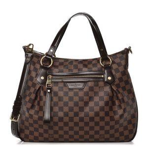 Authentic Louis Vuitton Damier Ebene Evora MM bag for Sale in Fairfax, VA