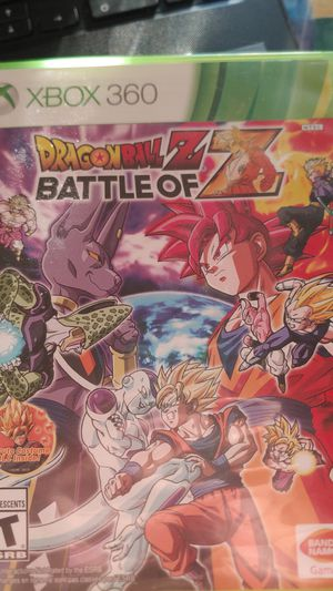 Dragon ball Z Xbox 360 Games Video Console Live Action for Sale in Pasadena, MD