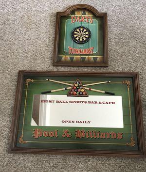 Frame Game room Pool Billiards for Sale in Orlando, FL