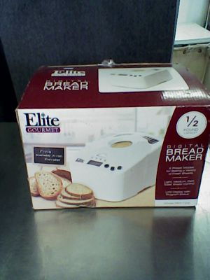 Elite gourmet bread maker for Sale in Redlands, CA