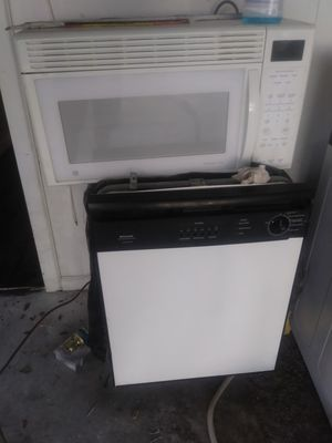 Dishwasher and microwave for Sale in Lakeland, FL