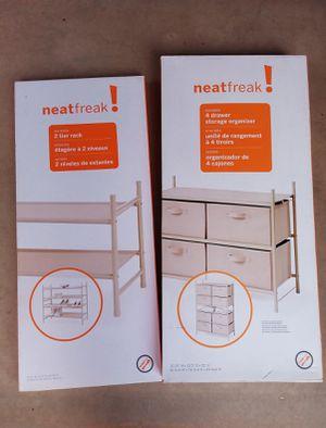 Neatfeak closet organizer- NEW IN BOX for Sale in Tempe, AZ