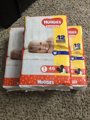 Huggies Snug & Dry #1 for Sale in Arlington, TX