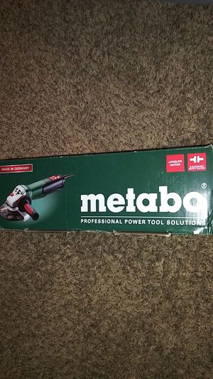 Metabo grinder for Sale in Stockton, CA