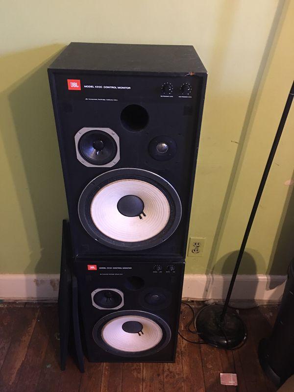 JBL Model 4312C Control Monitor Speaker Duo