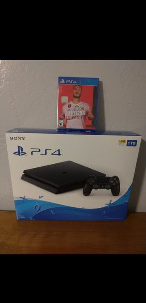Sony PlayStation 4 System / Console Brand New Sealed in the Box With New FIFA 20 Game for Sale in Chula Vista, CA