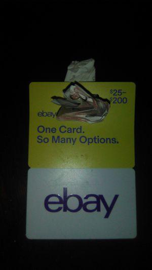 eBay card for Sale in Ingleside, TX