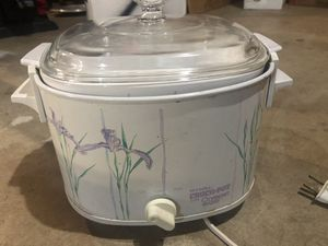 Rival Crockpot with Matching Casserole Dish for Sale in Cary, IL
