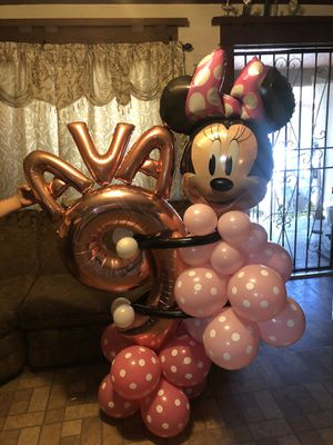 🎈🎈🎈MINNIE MOUSE BALLOON BIRTHDAY BOUQUET for Sale in Los Angeles, CA