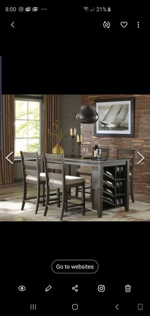 Rokane;Counter Height Dining Room Table for Sale in Phoenix, AZ